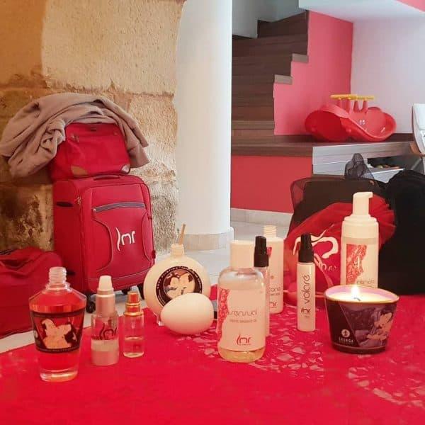 la maleta roja tuppersex