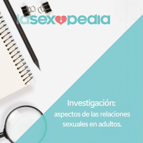 estudio relaciones sexuales
